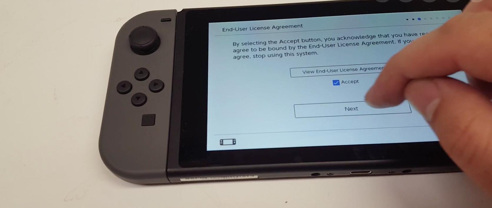 switchエンドユーザー使用許諾